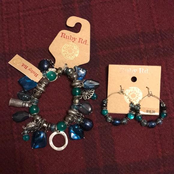 Ruby Rd. Jewelry - Earrings and Bracelet set